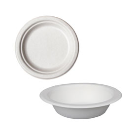 COMPOSTABLE PLATES AND BOWLS