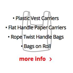 CARRIER BAGS AND ROLL BAGS