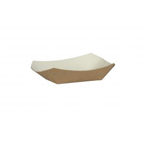 COMPOSTABLE KRAFT CHIP TRAY