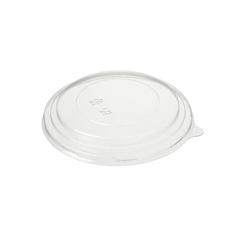 CLEAR DOMED LID FOR LARGE KRAFT BOWL 1300ml