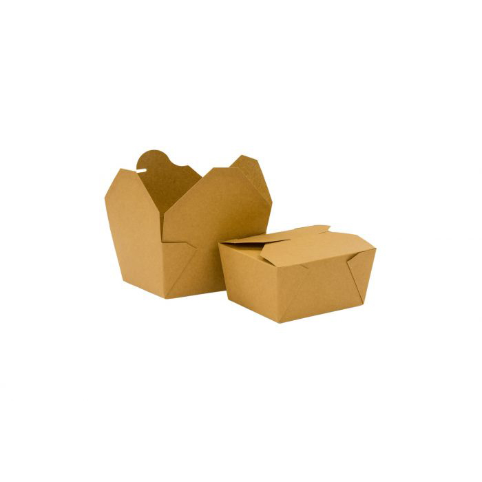 KRAFT BOXES, BOWLS AND TRAYS