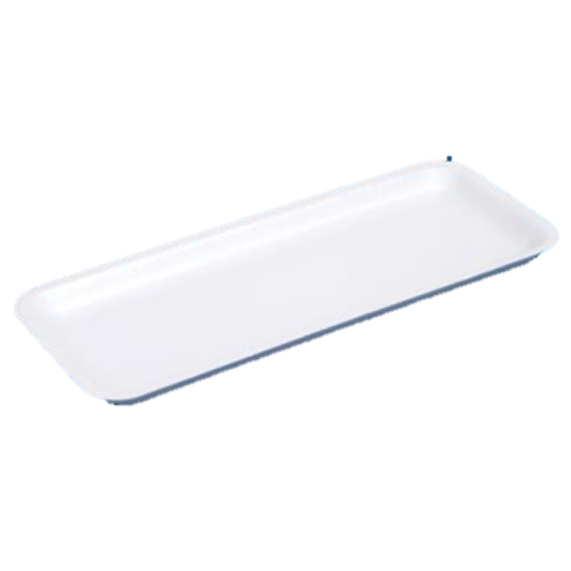 D17 POLYSTYRENE MEAT TRAY