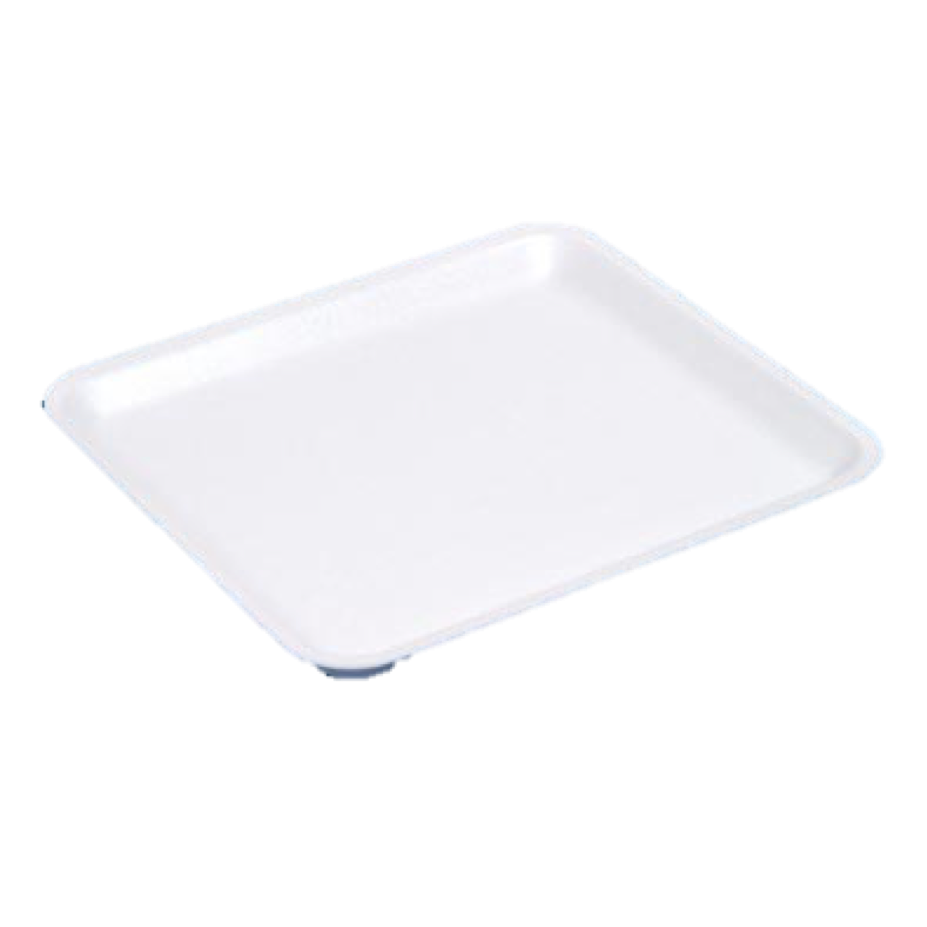 D18 POLYSTYRENE MEAT TRAY