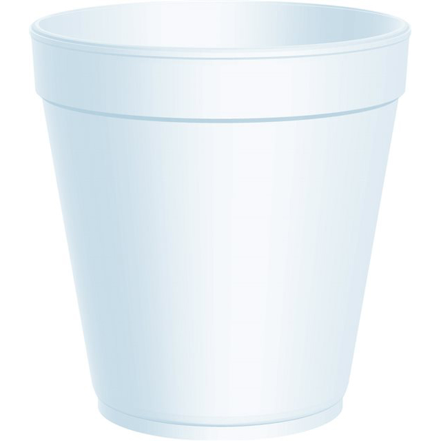 24OZ DART WHITE POLYSTYRENE CONTAINERS