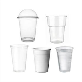 COLD PLASTIC DRINK CUPS AND LIDS