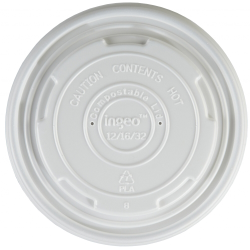 12/16OZ COMPOSTABLE SOUP LIDS