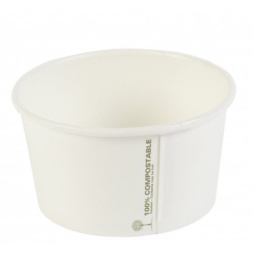 12OZ COMPOSTABLE SOUP CONTAINERS