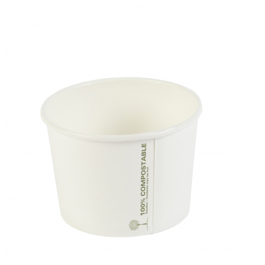 8OZ COMPOSTABLE SOUP CONTAINERS